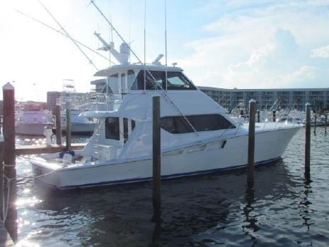 2002 Hatteras Convertible Profile Port View