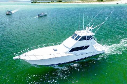 2002 Hatteras Convertible Profile