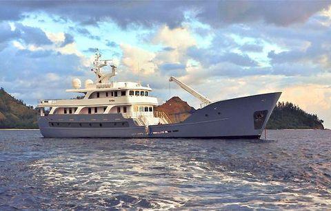 2012 Custom Expedition Luxury LRC Yacht Global Expedition Yacht ANDA