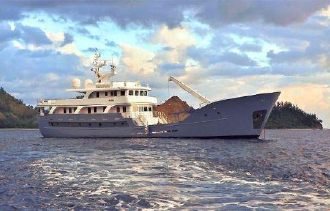 2012 Custom Expedition Luxury LRC Yacht