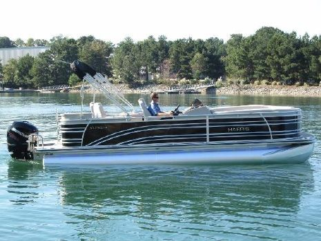 2016 Harris Solstice 240 EGDH - TRITOON with 200HP