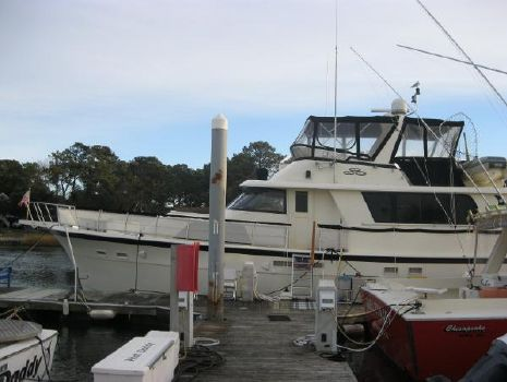 1987 Hatteras 53 Extended Deckhouse Motor Yacht