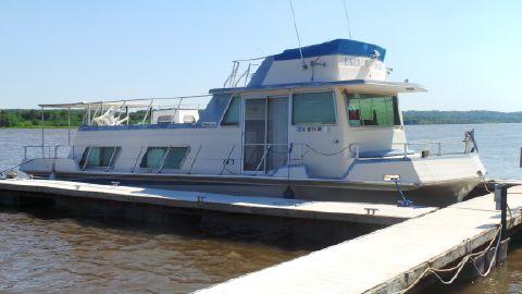 1976 Nauta Line 43 Flybridge Houseboat