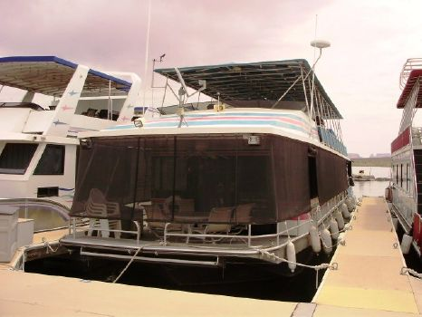 1990 Stardust Widebody Houseboat