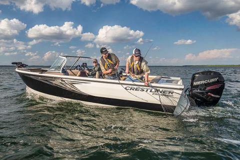 2016 Crestliner 2150 Sportfish Outboard