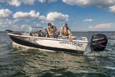 2017 Crestliner 2150 Sportfish Outboard