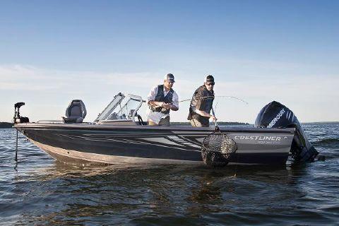 2016 Crestliner 1850 Sportfish Outboard
