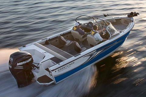 2017 Crestliner 1850 SportFish SST Manufacturer Provided Image