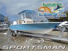 2018 SPORTSMAN Masters 267 Bay Boat