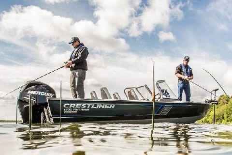 2016 Crestliner 1950 Fish Hawk SC