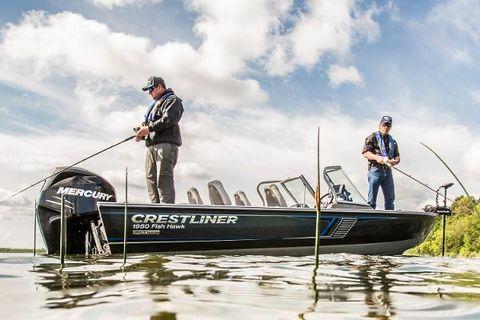 2016 Crestliner 1950 Fish Hawk WT