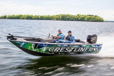 2017 Crestliner 1850 Fish Hawk SC