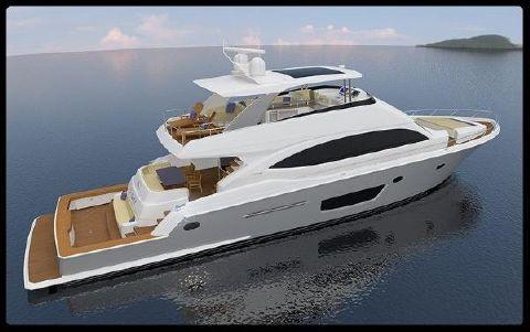 2017 Viking Cockpit Motor Yacht