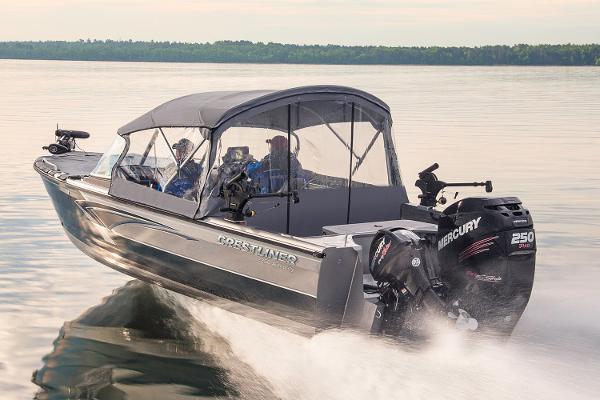 new 2017 crestliner 2250 authority endicott ny 13760 rh boattrader com