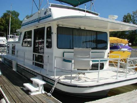 1996 Gibson 44Ft. HOUSEBOAT FRESHWATER OHIO RIVER