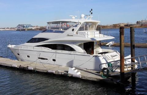 2006 Marquis 65 Motor Yacht Skylounge Port Side