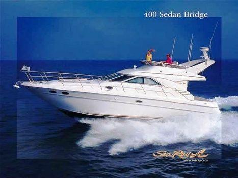1998 Sea Ray 400 Sedan Bridge Cruising