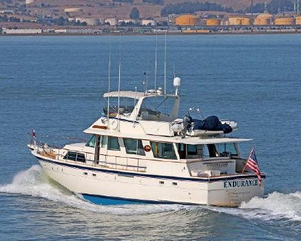 1982 Hatteras CPMY Port Profile