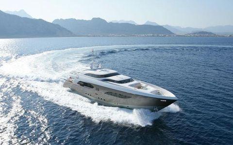 2008 Tamsen Yachts 41M Starboard running shot