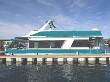 1995 M Yacht Houseboat