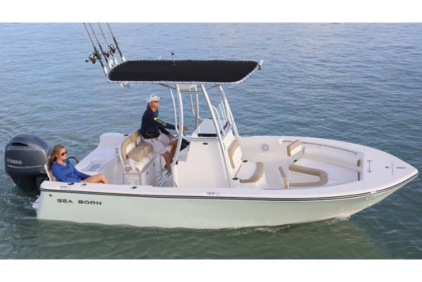 2017 Sea Born LX21 Center Console Manufacturer Provided Image