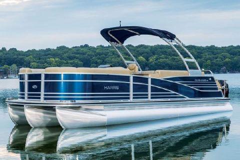 2016 Harris Flotebote Grand Mariner SL 250 DLDH - TRITOON