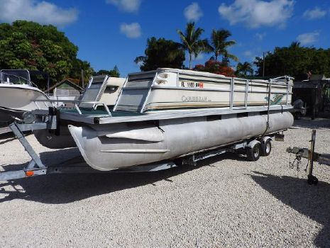 1998 Crest Pontoon Boats 25 Caribbean Rear Entry