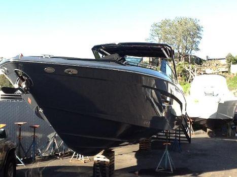 2017 Cruisers Yachts Sport Series 338 bowrider Slate gray South Beach custom color