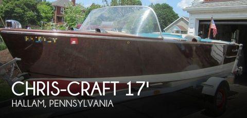 1957 Chris-Craft 17 Cavalier 1957 Chris-Craft 17 Cavalier for sale in Hallam, PA