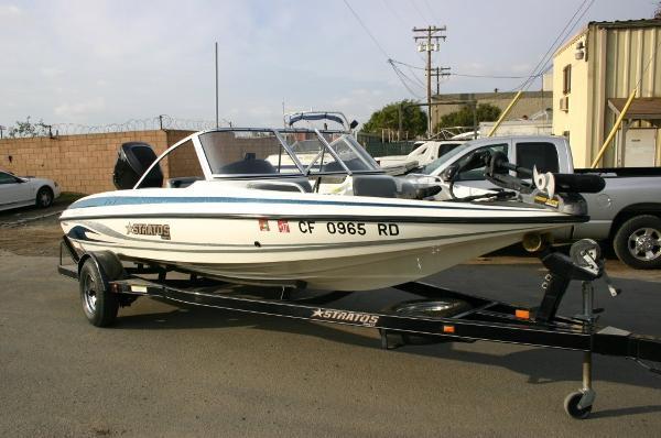 2004 Stratos 190 Fish-N-Ski