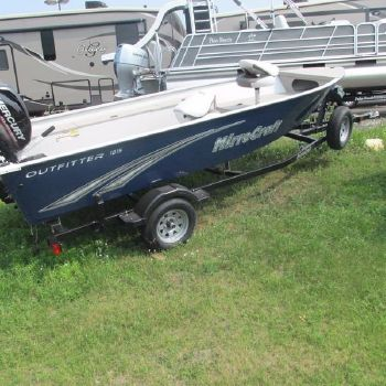 2014 Mirrocraft Outfitter Series 1615-O