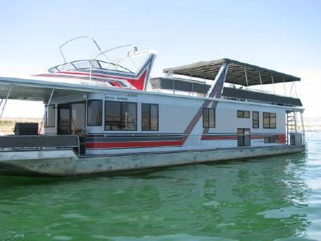 1993 Stardust Widebody Multi Owner Houseboat