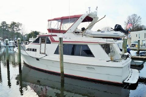 1989 Majestic 50 PILOTHOUSE MOTORYACHT 1989 MAJESTIC 50 PILOTHOUSE PROFILE