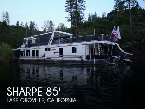 2006 Sharpe 84 foot Houseboat 2006 Sharpe 84 foot Houseboat for sale in Lake Oroville, CA