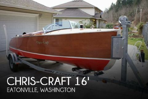 1941 Chris-Craft 101 Deluxe Runabout 1941 Chris-Craft 101 Deluxe Runabout for sale in Eatonville, WA