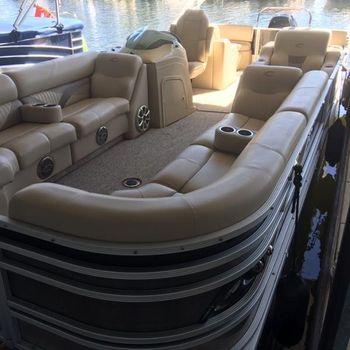 2013 crest pontoon Caribbean 250SLR2