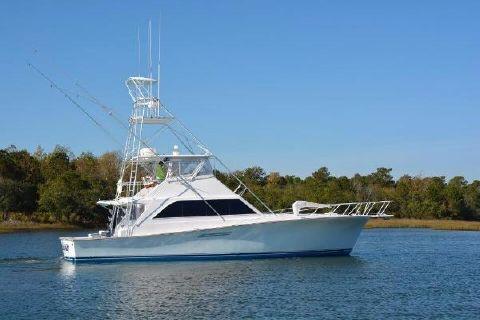 1989 Ocean Yachts 55 Super Sport Starboard Profile