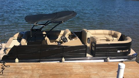 2016 Harris Grand Mariner 250