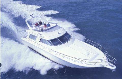 1994 Sea Ray 550 Sedan Bridge Sea ray Stock Photo