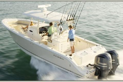 2019 Cobia 344 Center Console Manufacturer Provided Image