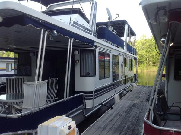 1998 LAKEVIEW YACHTS 14 x 60 Houseboat WB
