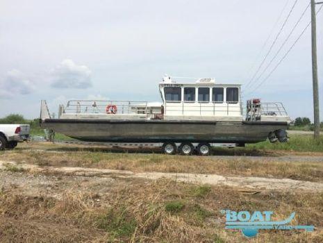 2010 Custom Geo Workboat 40X12