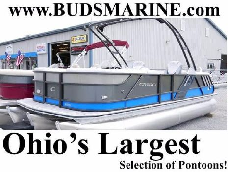 2018 CREST PONTOON BOATS Caliber 230 SLC