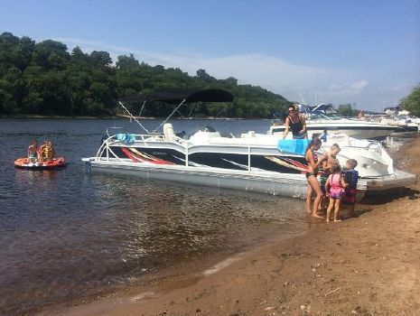 2014 J C MFG INC 306 TriToon JC pontoon