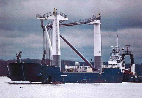 1978 barge Crane Barge