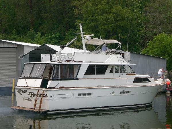 Used 1977 Trojan 54 Deckhouse Motoryacht Knoxville Tn 37922