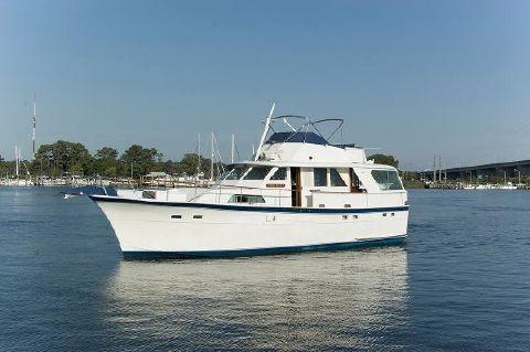 1974 Hatteras 53 Motoryacht Profile Port