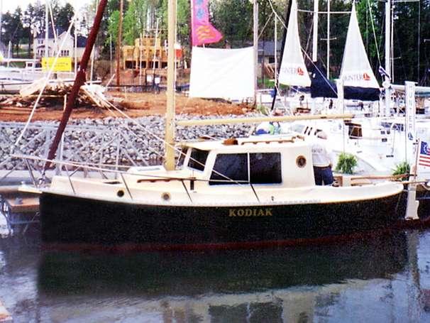 1999 Nimble Kodiak Pilothouse Motor Sailor