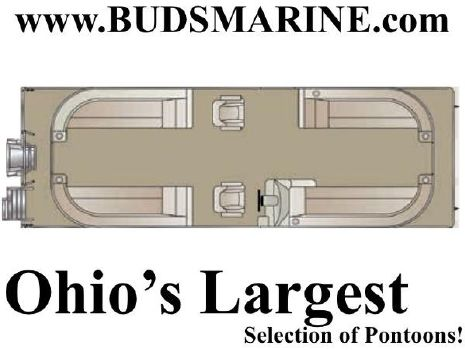 2019 CREST PONTOON BOATS III 220 SLC