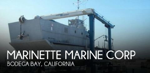 1969 Marinette 74 LCM-8 1969 Marinette Marine Corp 74 LCM-8 for sale in Bodega Bay, CA
